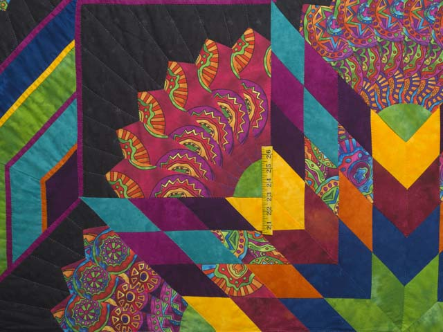 King Bright Bertha Quilt Photo 4