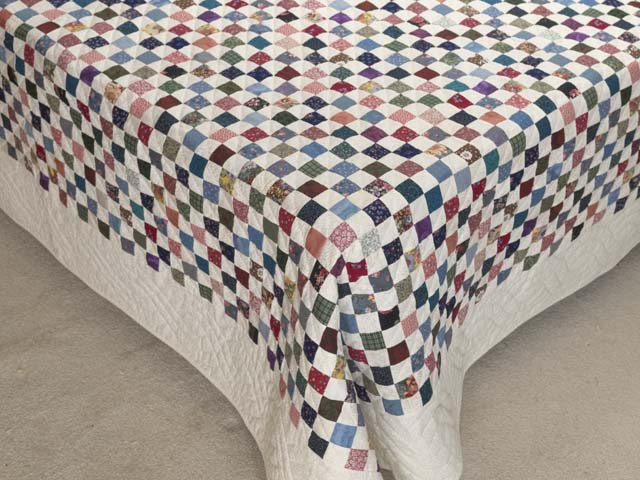 Multicolor Hit or Miss Quilt Photo 7