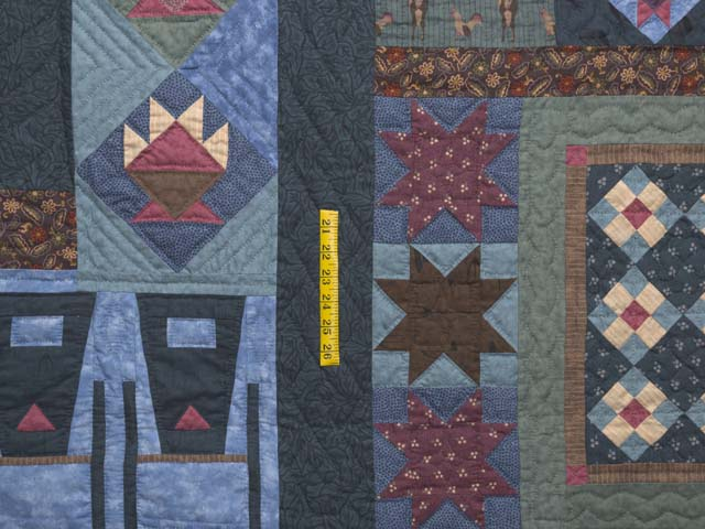 Almost Amish Sampler Quilt Photo 5