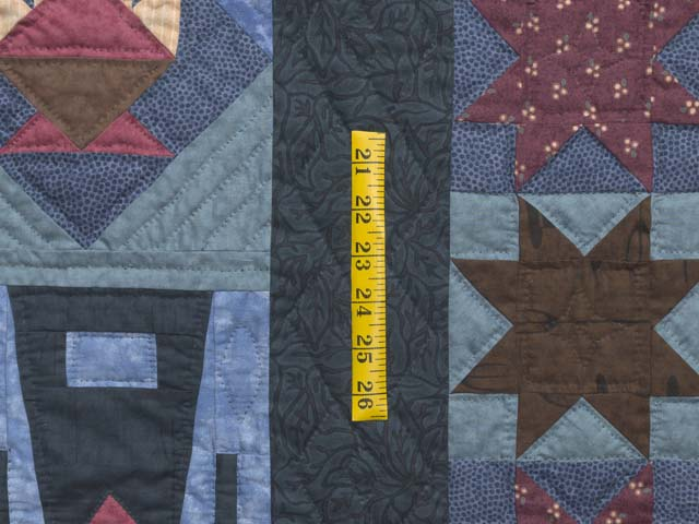 Almost Amish Sampler Quilt Photo 6