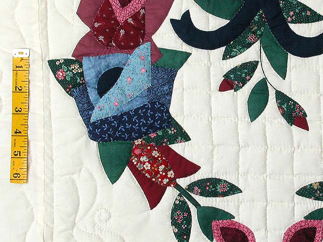 Heart Wreaths Applique Quilt Photo 6