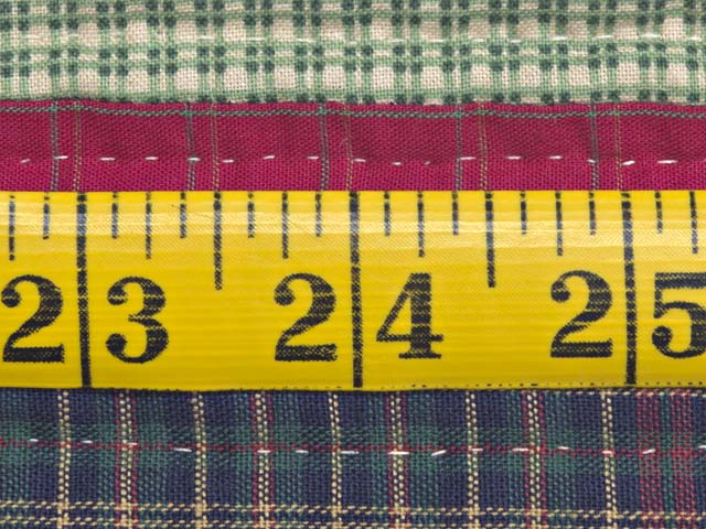 Plaid Homespun Squares Quilt Photo 8