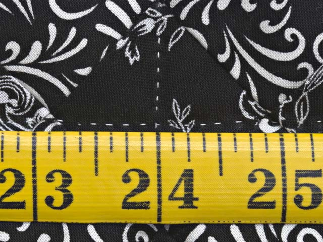 Black and White Blooming Nine Patch Quilt