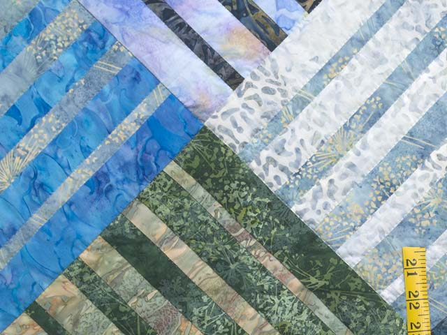 King Batik Underwater Blues Quilt Photo 5
