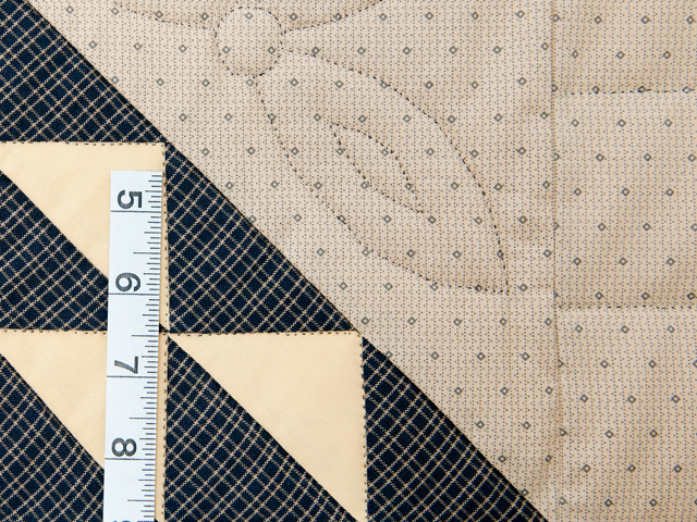 Navy and Multicolor Birds in the Air Quilt Photo 6