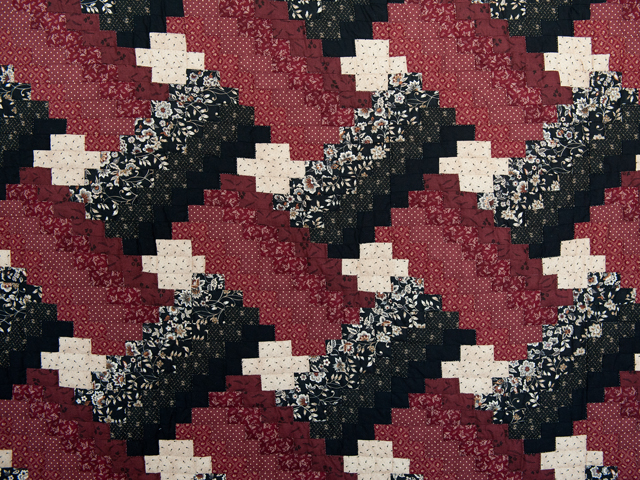 Brick, Black and Beige Weaver Fever Quilt Photo 3