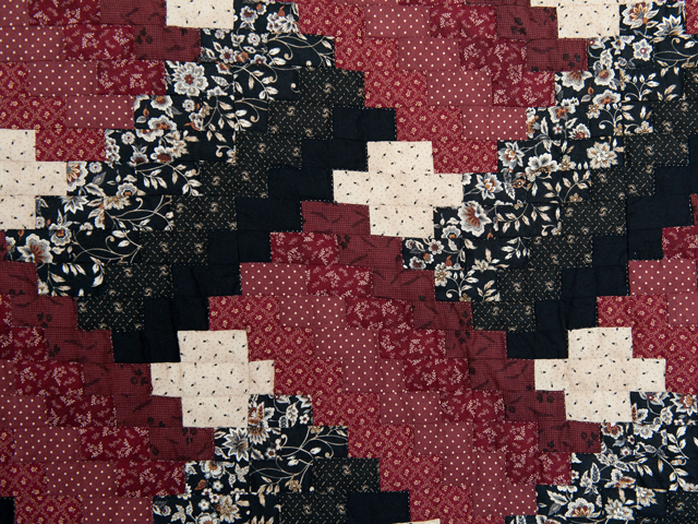 Brick, Black and Beige Weaver Fever Quilt Photo 4