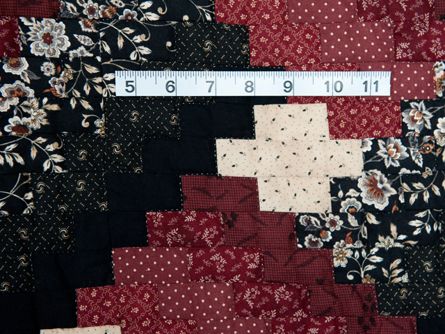 Brick, Black and Beige Weaver Fever Quilt Photo 5