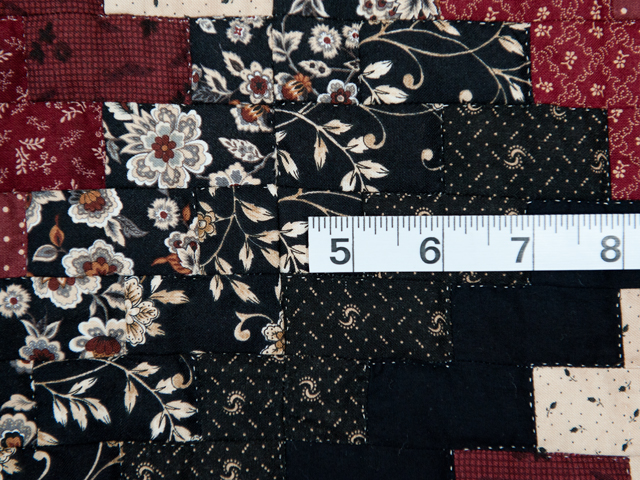 Brick, Black and Beige Weaver Fever Quilt Photo 6
