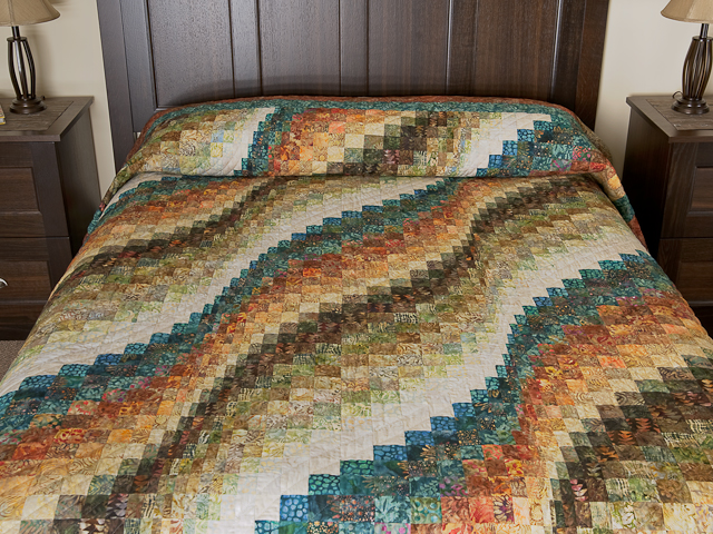Bargello Wave Quilt Photo 1