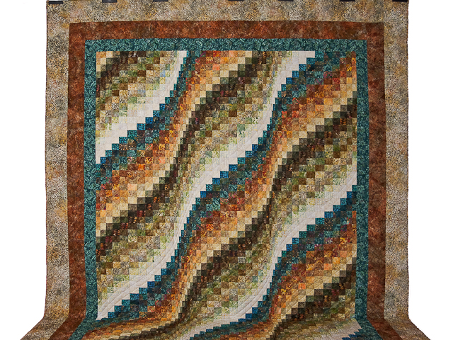 Bargello Wave Quilt Photo 2