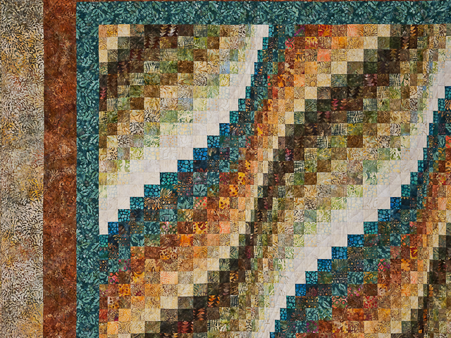 Bargello Wave Quilt Photo 4
