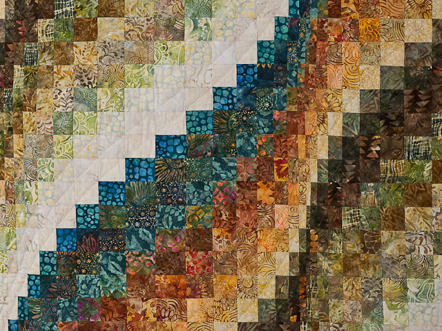 Bargello Wave Quilt Photo 5