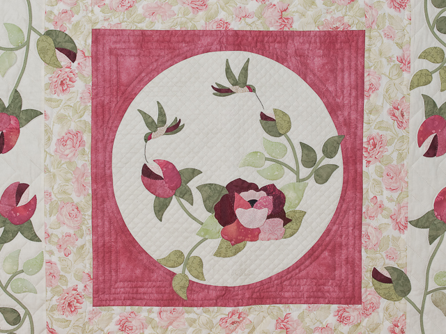 I Promised You a Rose Garden Quilt Photo 4