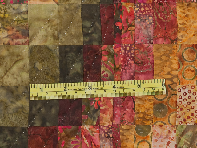 Bargello Wave Quilt Queen Size Photo 8