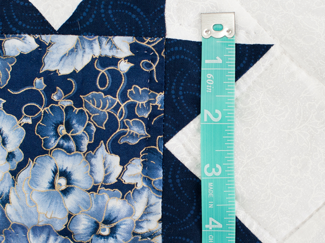 Navy Floral Cross Country Quilt Photo 6