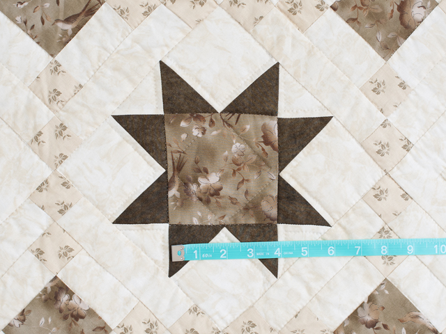 Olive Green and Beige Cross Country Quilt Photo 4