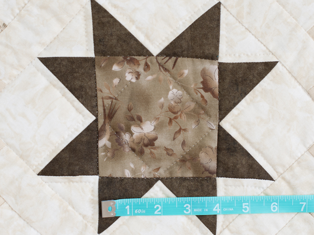 Olive Green and Beige Cross Country Quilt Photo 5