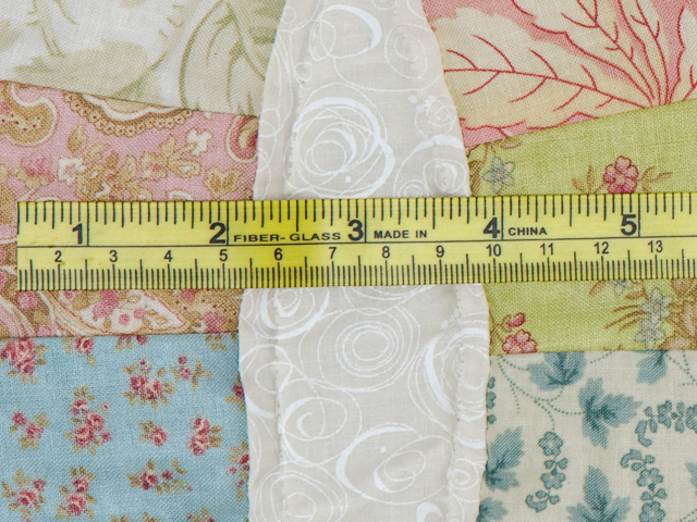 Pastel Double Wedding Ring Quilt King Size Photo 8