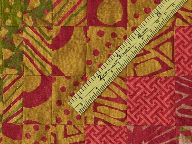 Bargello Flame Quilt King Size Photo 8