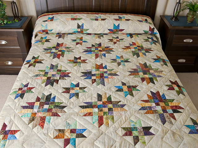 Galaxy Quilt Quilt -- gorgeous adeptly made Amish Quilts from ... : size of quilts - Adamdwight.com