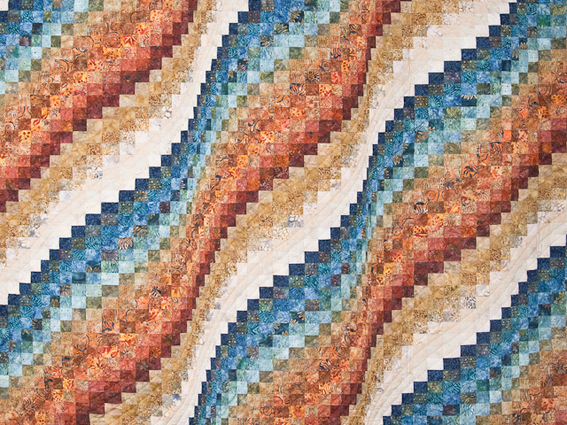Bargello Wave Quilt King Size Photo 3