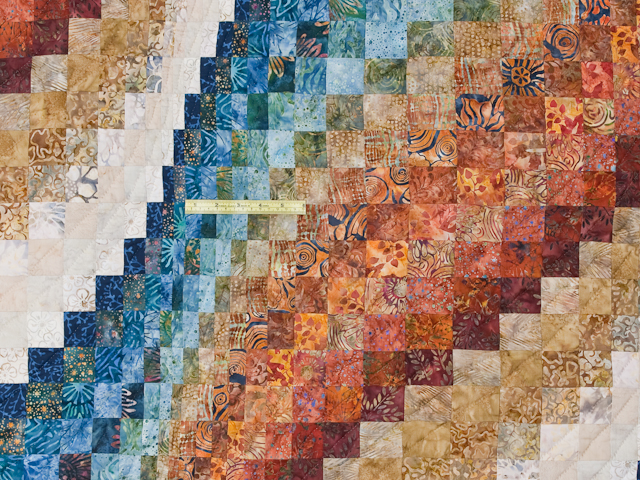 Bargello Wave Quilt King Size Photo 6