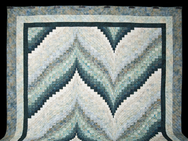 Bargello Flame Quilt King Size Photo 2
