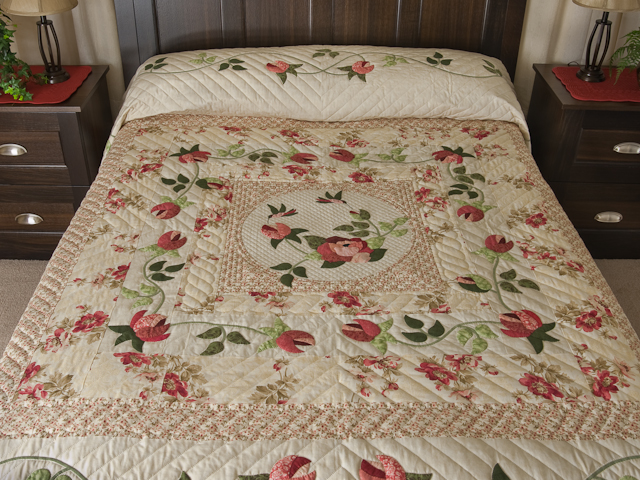 I Promised You a Rose Garden Quilt Photo 1