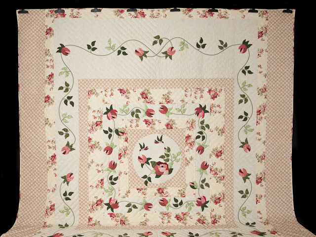I Promised You a Rose Garden Quilt Photo 2