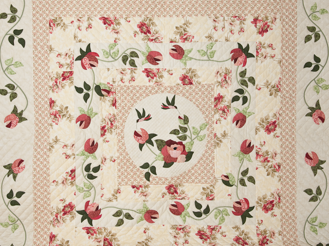 I Promised You a Rose Garden Quilt Photo 3