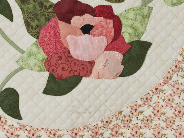 I Promised You a Rose Garden Quilt Photo 5