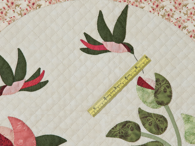 I Promised You a Rose Garden Quilt Photo 6