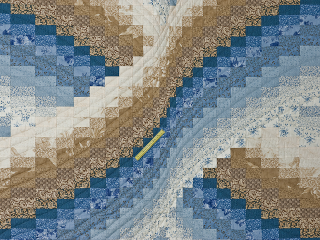 Twisted Bargello King size Photo 4