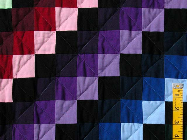 Sunshine and Shadow Quilt -- splendid made with care Amish Quilts ... : sunshine and shadows quilt pattern - Adamdwight.com