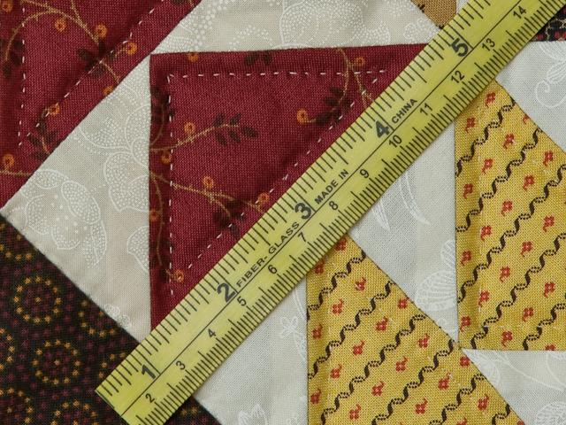Dutchmans Puzzle Queen Size Bed Quilt Photo 8