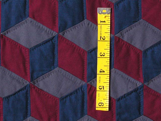 Amish Tumbling Blocks Quilt Photo 5