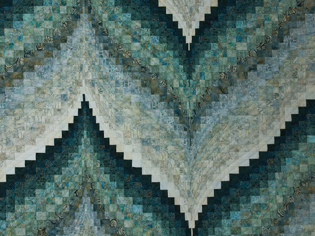 Bargello Flame - Queen size Photo 3