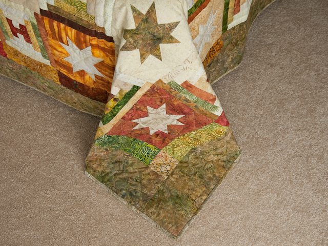 Courthouse Log Cabin Stars