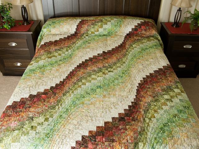 Bargello Wave - Queen size Photo 1