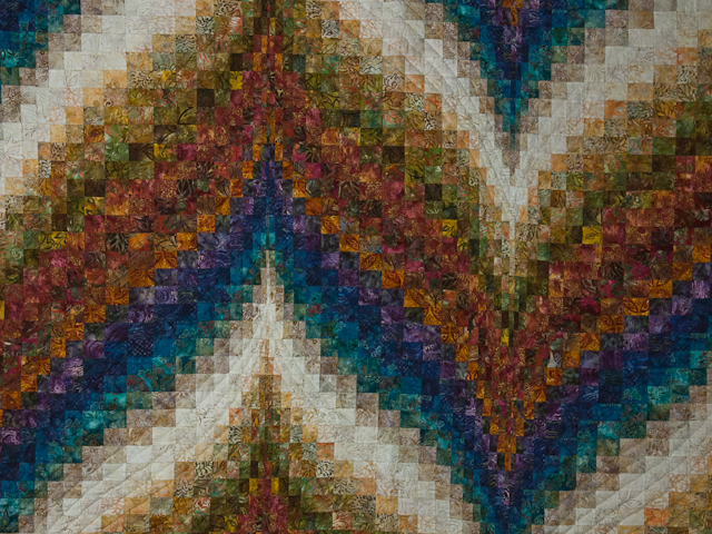 Bargello Flame - Queen/Double size Photo 3