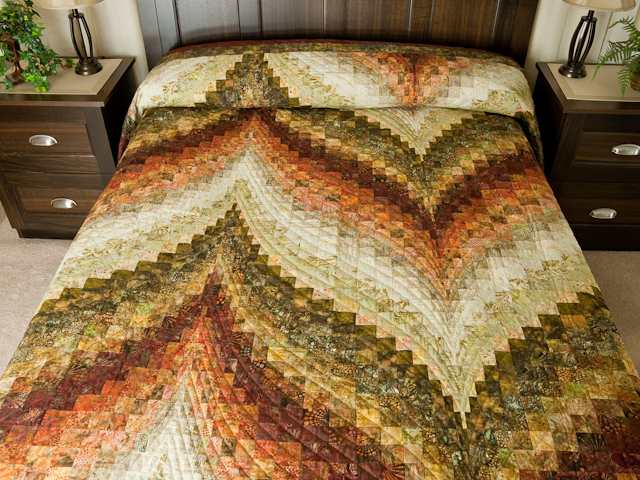 Bargello Flame - Queen/Double size Photo 1