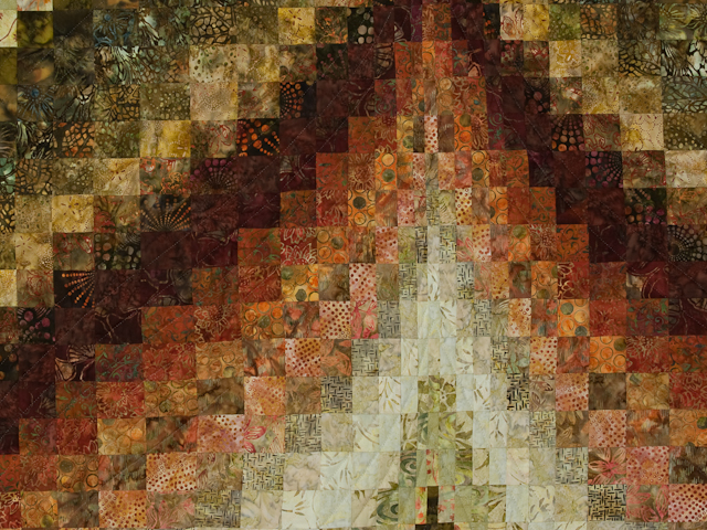 Bargello Flame - Queen/Double size Photo 5