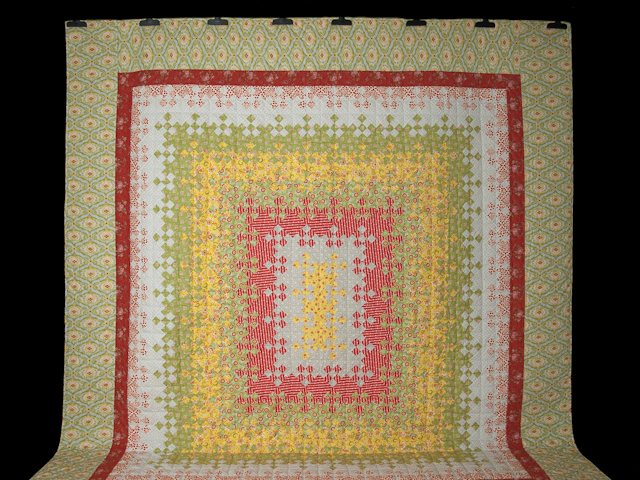 Blooming Nine Patch Queen Size Photo 2