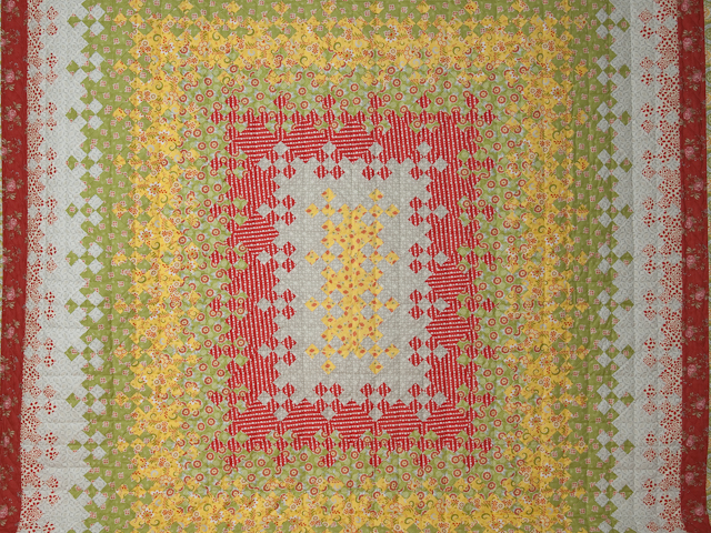 Blooming Nine Patch Queen Size Photo 3