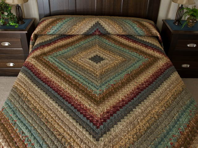 Postage Stamp Queen Bed Size Quilt 6,205 pieces !! Photo 1