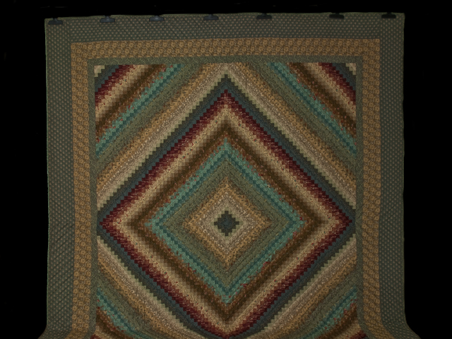 Postage Stamp Queen Bed Size Quilt 6,205 pieces !! Photo 2