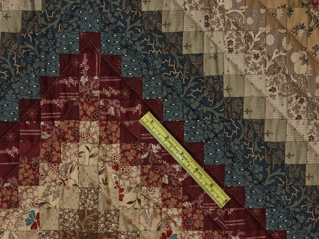 Postage Stamp Queen Bed Size Quilt 6,205 pieces !! Photo 6