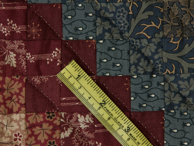 Postage Stamp Queen Bed Size Quilt 6,205 pieces !! Photo 8