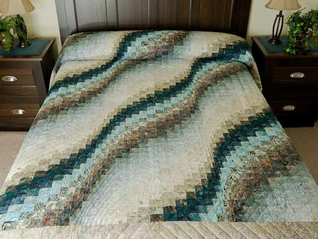 Bargello Wave - Queen size Photo 1